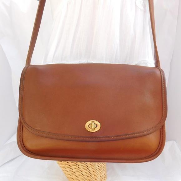 14d05941726635 Coach Bags   Vintage City Bag 9790 Tan Leather Crossbody   Poshmark